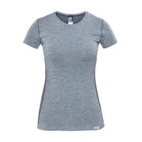 Kari Traa Kristina - Camiseta manga corta Mujer - azul